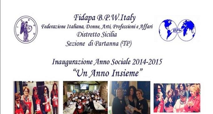 Fidapa Partanna: inaugurato l'anno sociale