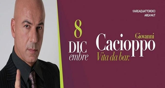 """Area 14: Al via la rassegna """"Area 14 cabaret"""" con lo show di Cacioppo"""