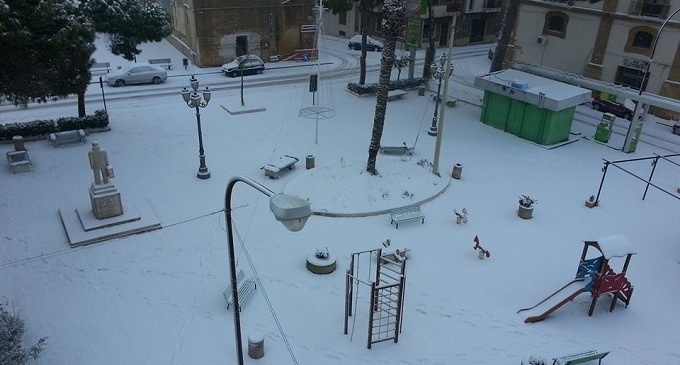 [FOTO] Valle del Belice: le foto della nevicata del 31 Dicembre 2014