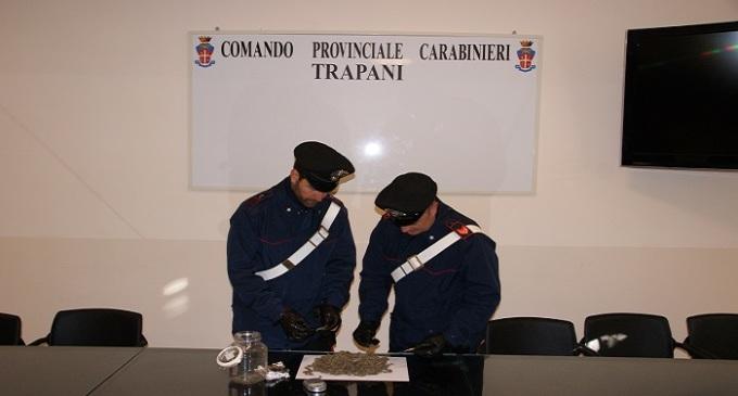 Droga in casa, i Carabinieri arrestano un disoccupato a Marsala
