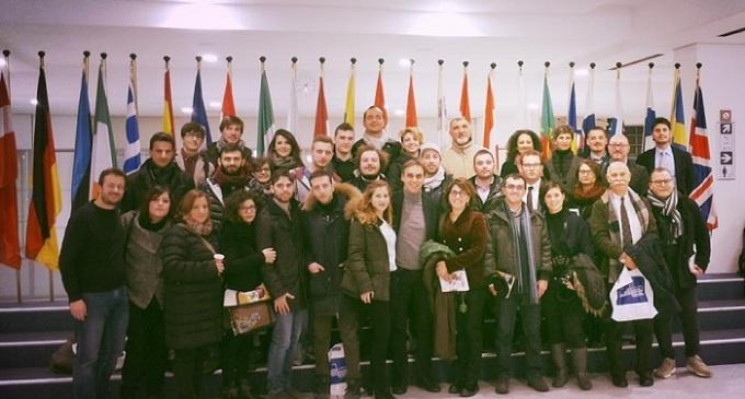 Una delegazione del Pd delle province di Trapani e Palermo in visita ufficiale al Parlamento Europeo