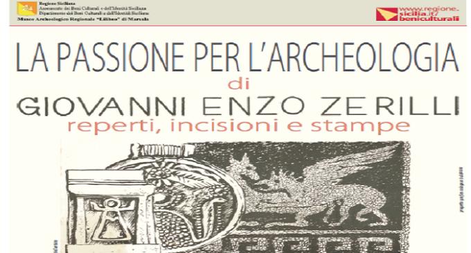 Marsala: dal 20 dicembre al 31 gennaio Mostra Archeologica di G. E. Zerilli