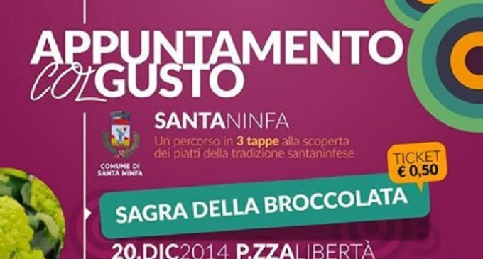 Santa Ninfa: domani la sagra della broccolata