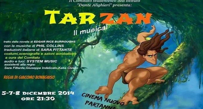 """Partanna: 5, 7 e 8 dicembre al cinema nuovo il musical """"Tarzan"""""""