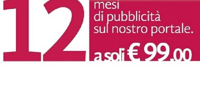 Con 99 euro pubblicità per un anno su Partannalive