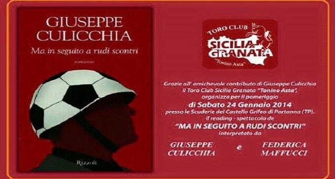 """Partanna: """"Ma in seguito a rudi scontri"""", romanzo e reading di Giuseppe Culicchia"""