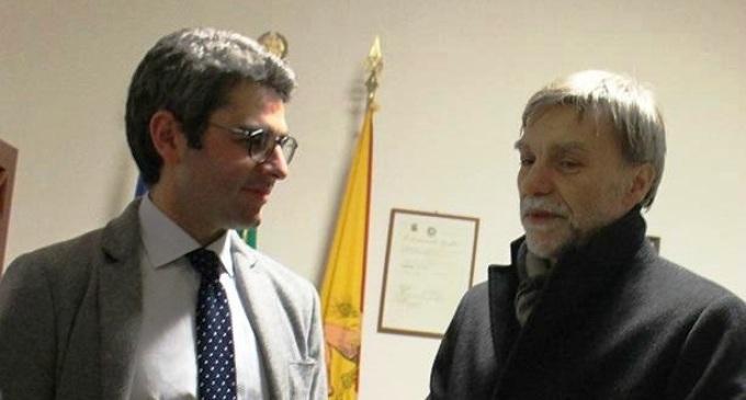 Il sottosegretario Delrio in visita a Salemi