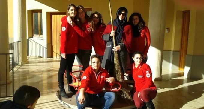 Befana per i bambini organizzata dalla Croce Rossa