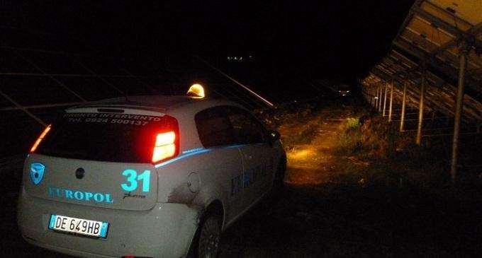 Ladri di rame nelle campagne di Roccamena messi in fuga da agenti dell'Europol