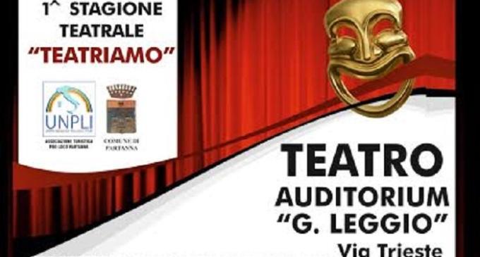 """Partanna: dal 19 gennaio al 10 maggio """"Teatriamo"""" all'Auditorium Leggio"""