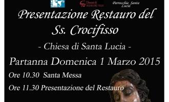 Partanna: domenica presentazione Restauro del Ss. Crocifisso