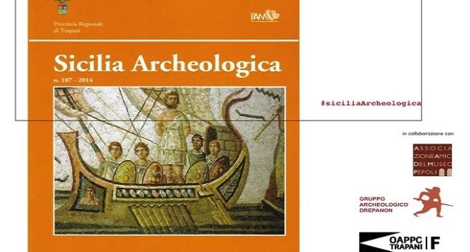 Sabato 28 febbraio presentazione della rivista Sicilia Archeologica n. 107