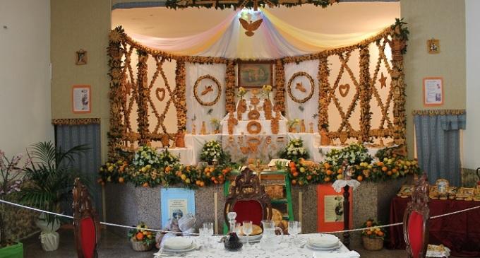 Altare di San Giuseppe e Cena di Li Santi 2015 a Mazara