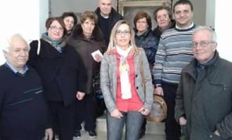 """Donazione del Gruppo """"Partanna 'mpinta a mala banna"""" a favore della Caritas"""