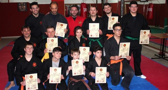 Mazara del Vallo: passaggi di cintura alla Kim Long Fighting Ju Jitsu