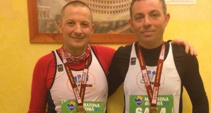 Maratona di Roma: buona prova per i partannesi Tramonte e Stassi