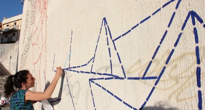 Santa Ninfa: lunedì si inaugura il murales di Coquelicot Mafille