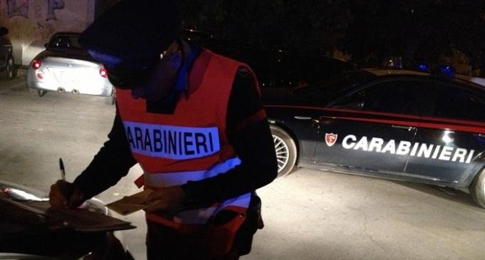 Alcamo: risultati dei controlli straordinari effettuati dai Carabinieri per il ponte del 25 Aprile