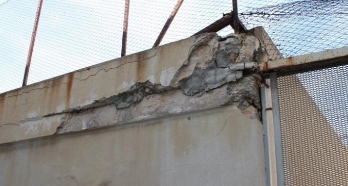 Sopralluogo Uilpa al carcere Trapani: muffa, infiltrazioni d'acqua e muri pericolanti