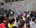 """Santa Ninfa: inaugurati gli """"affreschi ricamati"""" di Coquelicot Mafille"""