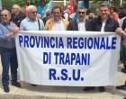 Riforma Province, Sit-in davanti la Prefettura dei lavoratori dell'ex Provincia Regionale di Trapani