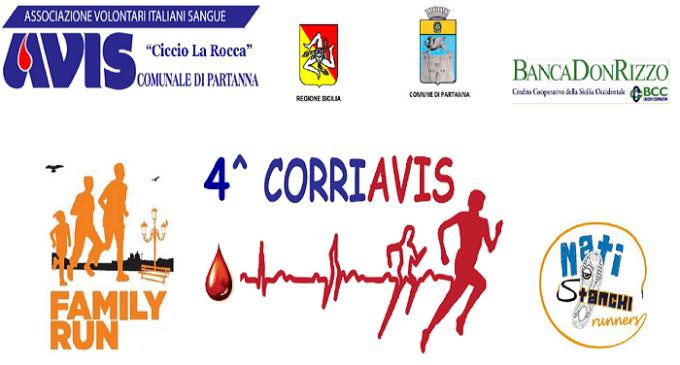 Partanna: domenica 24 maggio la  4^ Corriavis