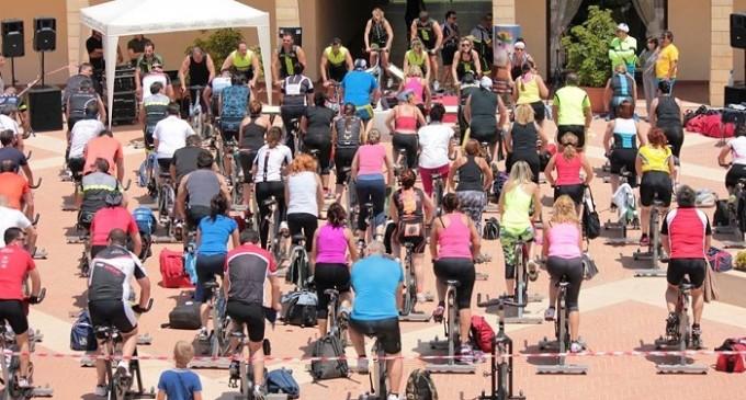 Group Cycling al Mahara Hotel con gli istruttori della provincia di Trapani