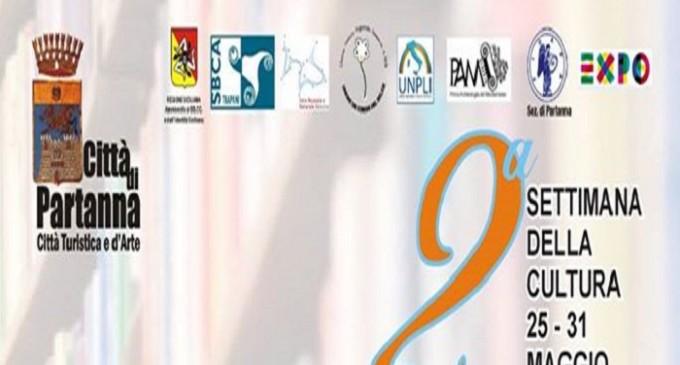 Partanna: dal 25 al 31 maggio 2° Settimana della Cultura