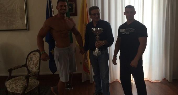 Il castelvetranese Filippo Vaiana è campione regionale di Body building