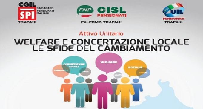 Domani sit-in davanti la prefettura di Trapani e Attivo unitario dei pensionati