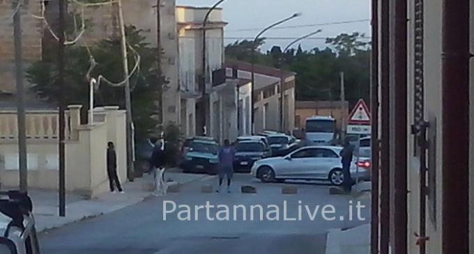 Partanna: protesta in corso di migranti ospiti