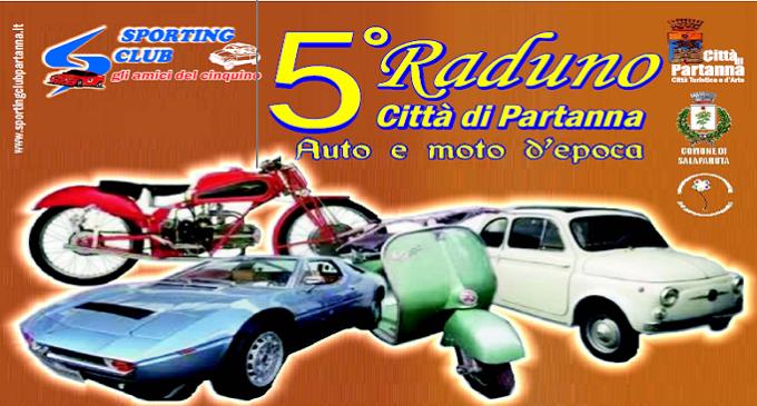 Il 21 giugno 5° Raduno Città di Partanna di Auto e Moto d'epoca