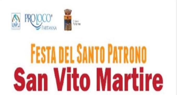"""Partanna: da oggi a lunedì festeggiamenti di """"San Vito"""""""