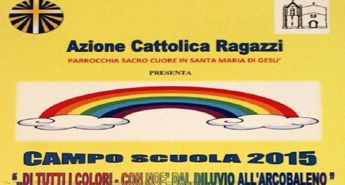 """A Santa Ninfa """"Di tanti colori – con Noè dal diluvio all'arcobaleno"""""""