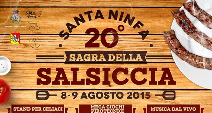 Santa Ninfa: la ventesima sagra della salsiccia l'8 e 9 agosto