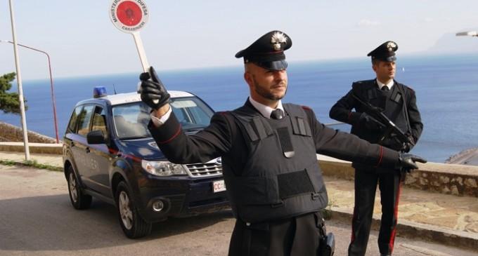 Controlli dei Carabinieri a Castellammare del Golfo, 3 denunce