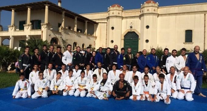 Brazilian Jiu Jitsu: concluso l'anno accademico alle cantine Fina di Marsala