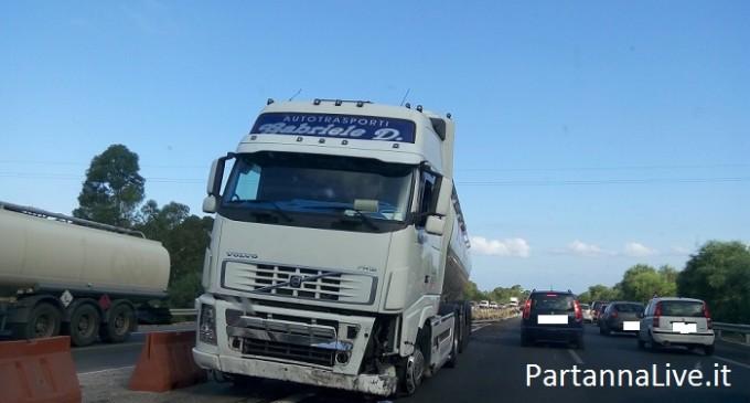 Incidente sull'autostrada A-29 Palermo-Mazara del Vallo