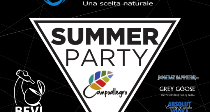 Tutto pronto per il Summer Party Campoallegro