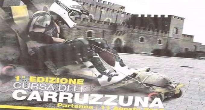 """Partanna: martedì 11 agosto 1° edizione """"Cursa di lu carruzzuna"""""""