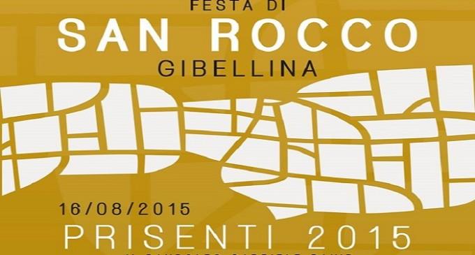 Gibellina: domenica 16 agosto la festa di San Rocco e il Prisenti