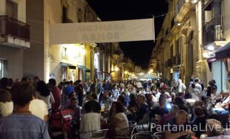 """Grande successo a Partanna per la prima """"Notte bianca 2015"""""""