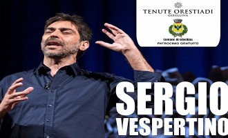 Gibellina: martedì 1 Settembre alle Cantine Orestiadi Sergio Vespertino