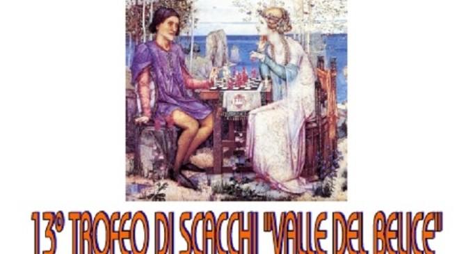 """Partanna: il 28 agosto 13° trofeo di scacchi """"Valle del Belice"""""""