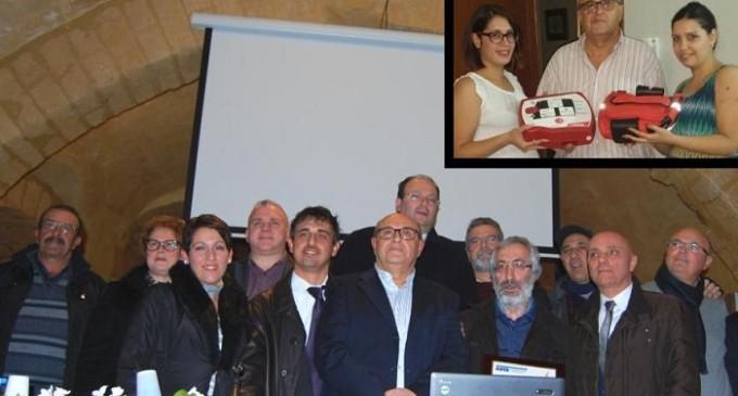 Con la somma ricevuta dai familiari di Piero Monte l'Avis di Partanna acquista un defibrillatore