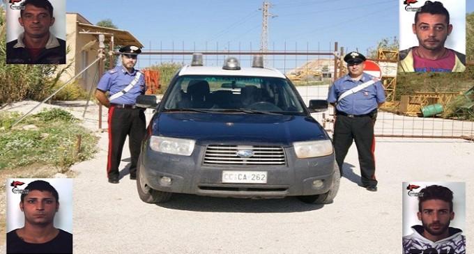 "Valderice, ""oro rosso"": quattro arresti dei Carabinieri"
