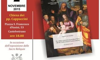 """Castelvetrano: presentazione del volume """"La chiesa conventuale di Sant'Anna dei pp. Cappuccini in Castelvetrano"""""""