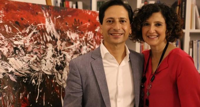 """Palermo: inagurata """"Impronte"""" di Fabio Costanzo e Maria Rosaria Piazza"""