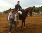 Marsala, Equitazione: trionfa Dario Favata
