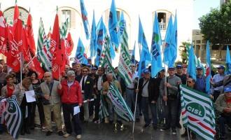 Trapani: Cgil, Cisl e Uil ieri in piazza contro la perdita di fondi Pac per gli asili nido
